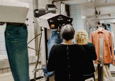 Textilconsulting bei der Arbeit am Big Jim